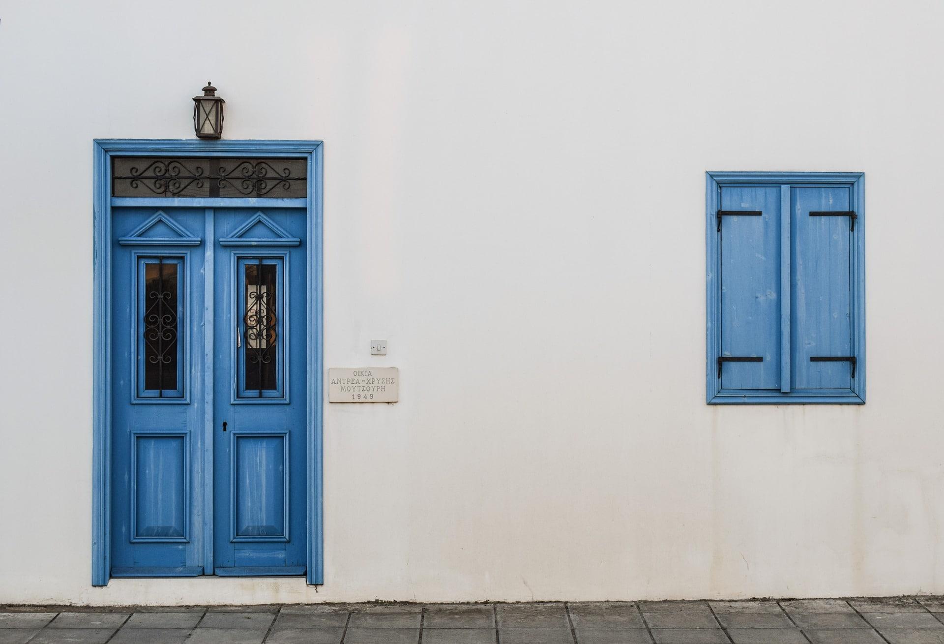 L'esthétique de la porte d'entrée